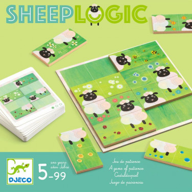 SheepLogic, jeu de patience DJECO 8473