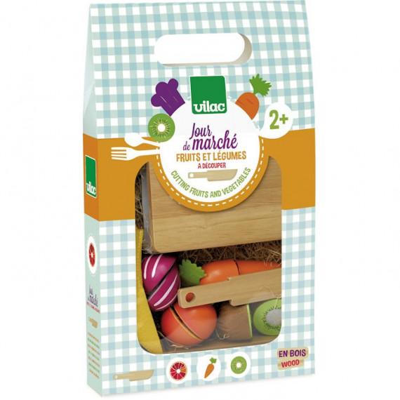 Fruits et légumes à découper 'Jour de marché' VILAC 8106
