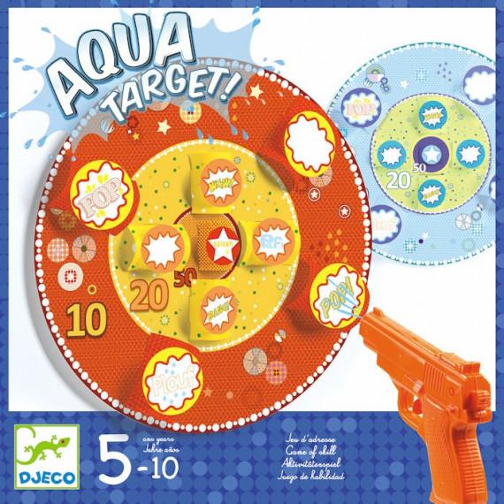 Jeu de pistolet à eau 'Aqua Target' DJECO 2047