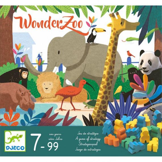 WonderZoo, jeu de stratégie DJECO 8402