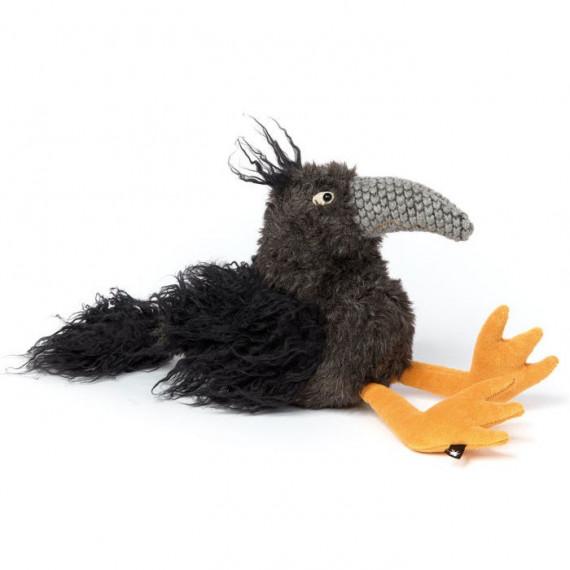 Ravi Raven, corbeau en peluche SIGIKID Beast 38946