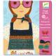 Tissage de laine 'La vie en rose' DJECO 9832