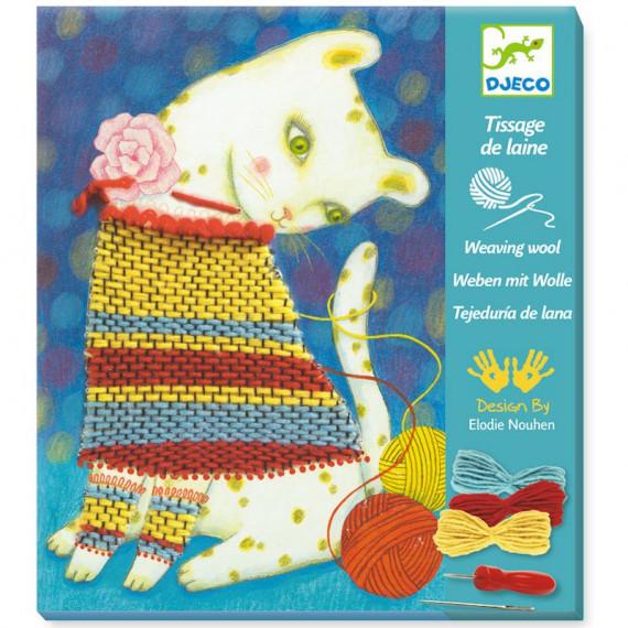 Tissage de laine 'Pull et pelotes' DJECO 9833