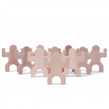 TIKI, jeu de construction en bois Les Jouets Libres