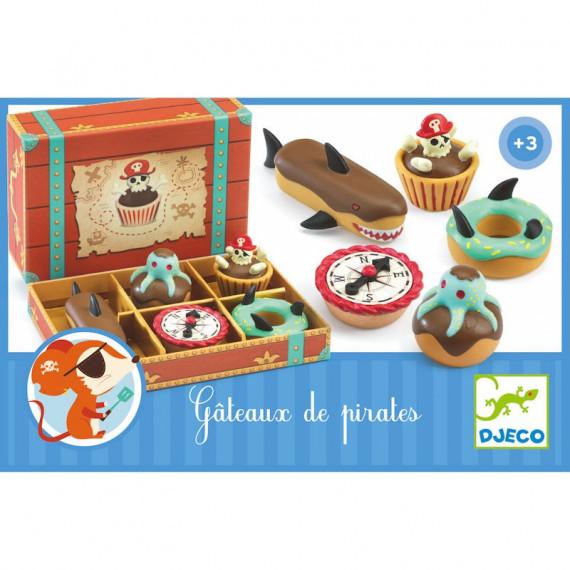 Gâteaux de pirates DJECO 6524