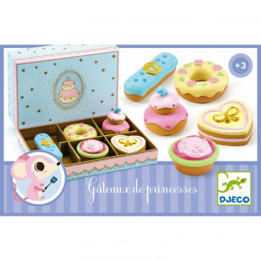 Gâteaux de princesses DJECO 6523