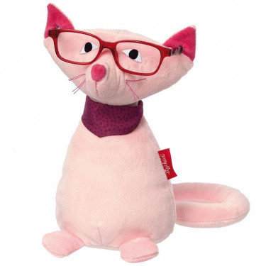 Peluche porte-lunettes 'Chat' SIGIKID 42137