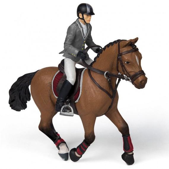 Cheval de concours et son cavalier PAPO 51561