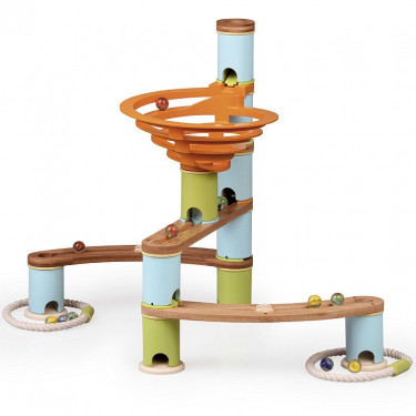 Circuit de billes Bamboo Planet, Kit de base