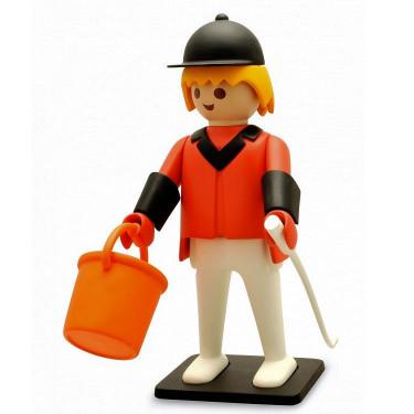 Le cavalier de concours d'obstacles Playmobil Collectoys de Plastoy