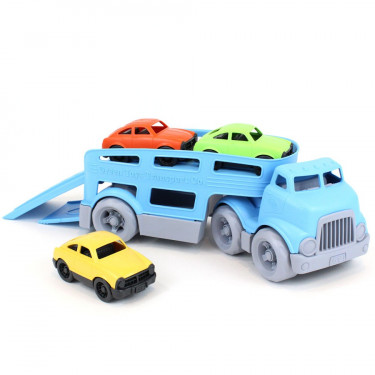 Camion transporteur de voitures GREEN TOYS