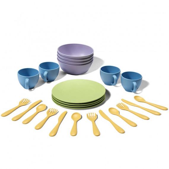 Service de vaisselle dinette GREEN TOYS