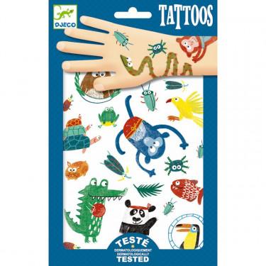 Tatouages 'Museaux' DJECO 9576