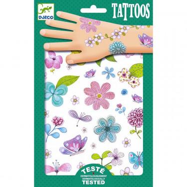 Tatouages 'Belle des champs' DJECO 9585