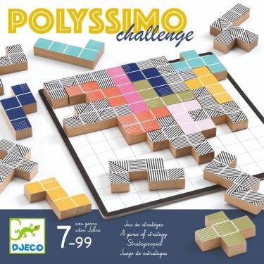 Polyssimo Challenge, jeu de stratégie DJECO 8493