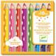 8 crayons de couleur pour les petits DJECO 9004