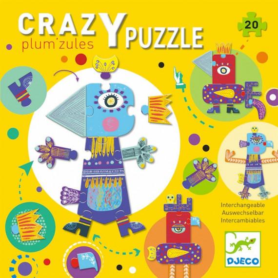 Crazy Puzzle 'Plum'zules' DJECO 7124