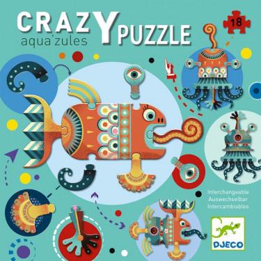 Crazy Puzzle 'Aqua'zules' DJECO 7125