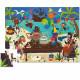 Puzzle silhouette 24 pcs 'La fête des pirates' Crocodile Creek