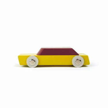 Duotone Car n°1 design by Floris Hovers - Ikonic Toys