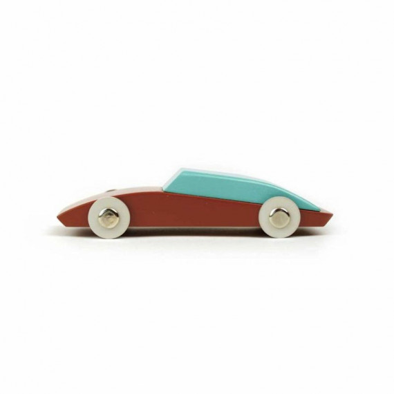 Duotone Car n°3 design by Floris Hovers - Ikonic Toys