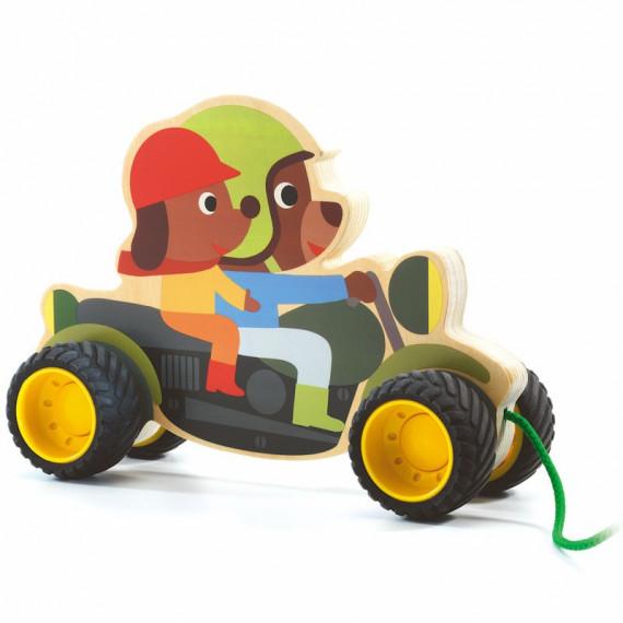 Terreno Bike, jouet à tirer DJECO 6240