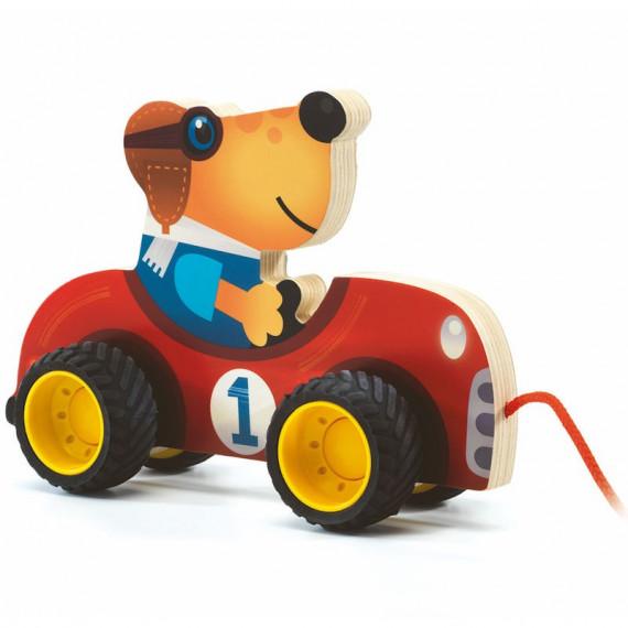 Terreno Car, jouet à tirer DJECO 6241