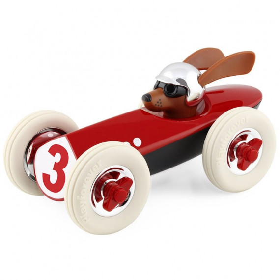 Voiture Rufus Playforever 'Patrick' rouge