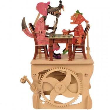 """Automate à manivelle """"Petit Chaperon Rouge"""" à construire MODelSHOP"""