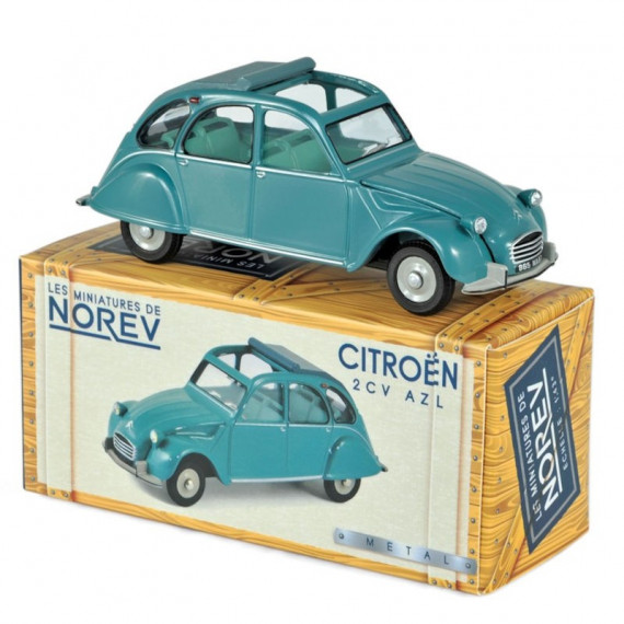 Citroën 2CV AZL 1966 - Vert Agave NOREV 1-43