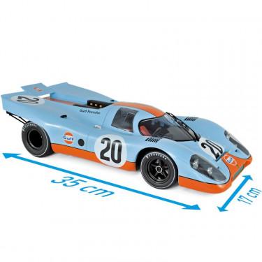 Porsche 917K - Gulf - Le Mans 1970 - Norev 1-12ème