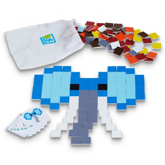 L'art des pixels, jeu de mosaïque BS Toys