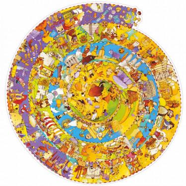 Puzzle observation 'Histoire' 350 pcs DJECO 7470