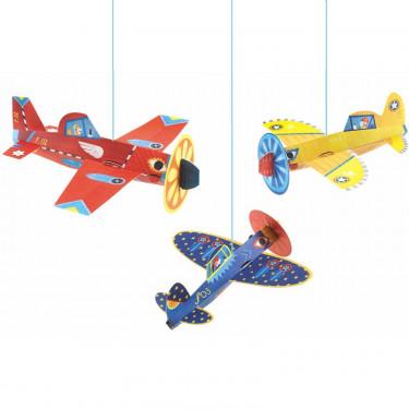 Avions, décorations à suspendre DJECO 4949