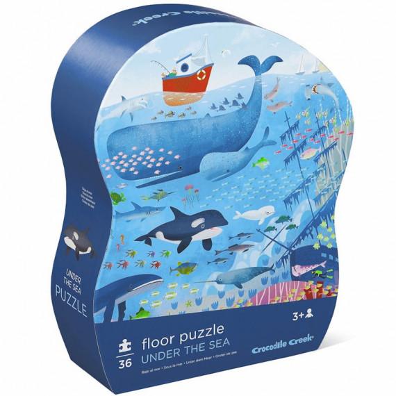 Puzzle 36 pcs 'Sous la mer' CROCODILE CREEK