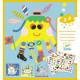Créer des animaux marins avec des stickers DJECO 8931