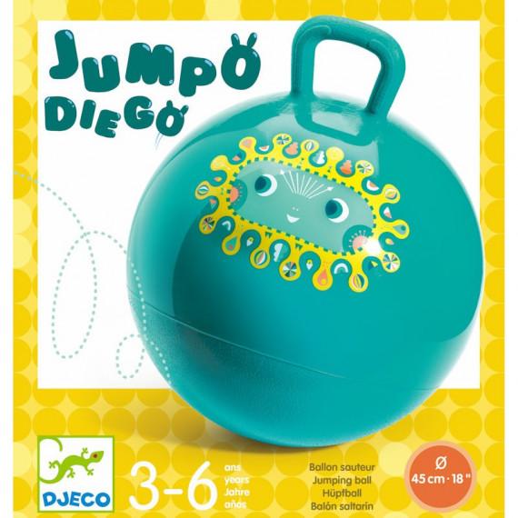 Ballon sauteur 'Jumpo Diego' DJECO 0181