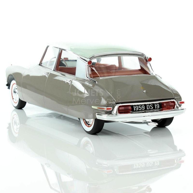 Et Blanc Citroën 1959 Ds19 Norev Marron 1 12ème HW29EIYD