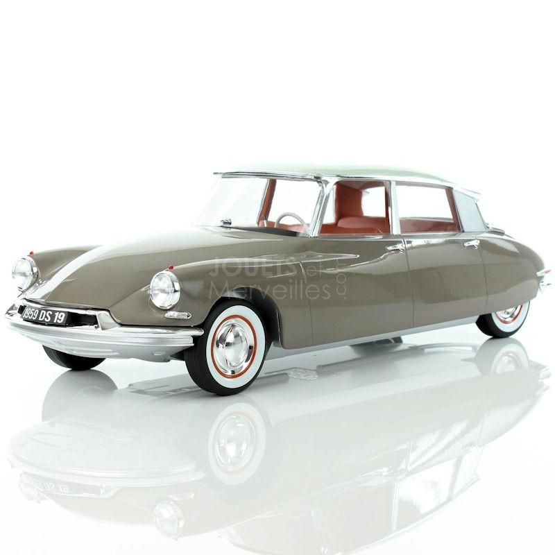 Ds19 Norev Marron 12ème 1959 Blanc 1 Citroën Et tsdBoQhrCx