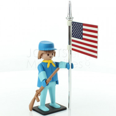 Le cavalier américain Playmobil Collectoys de Plastoy