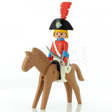L'officier et son cheval Playmobil Collectoys Plastoy