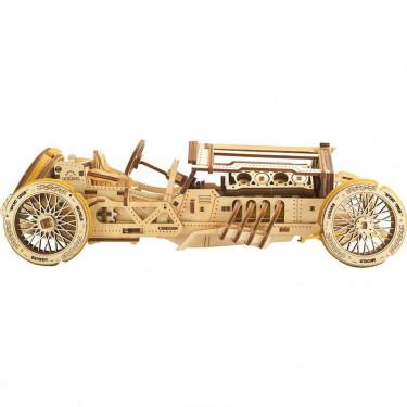 Bolide U-9 Grand Prix – Puzzle 3D Mécanique – Ugears France