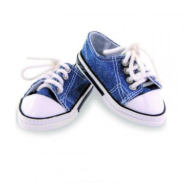 Chaussures de sport en toile pour poupées de 28 cm Petitcollin