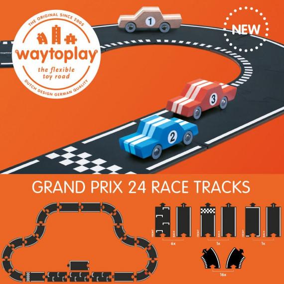 Circuit Grand Prix Waytoplay, coffret 24 pcs