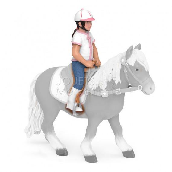 Enfant cavalière PAPO 52014