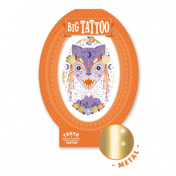 Tatouage enfant Big Tattoo 'Mystic beast' DJECO 9601