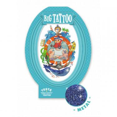 Tatouage enfant Big Tattoo 'Biscoteaux' DJECO 9607