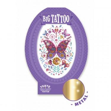Tatouage enfant Big Tattoo 'Papillon' DJECO 9604