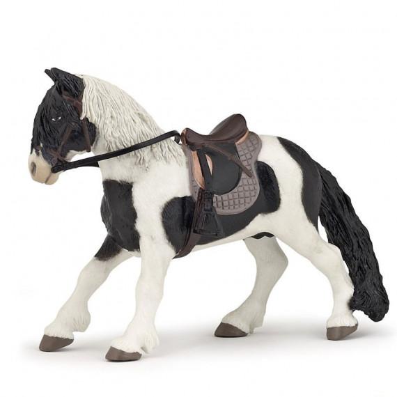 Poney avec selle, figurine PAPO 51117