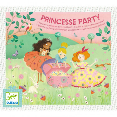 Princesse party DJECO 2096